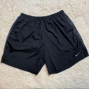 Nike Athletic Shorts Black XXL